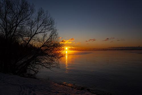 sunrise nikon d7200 lakeontariopark winter nikond7200