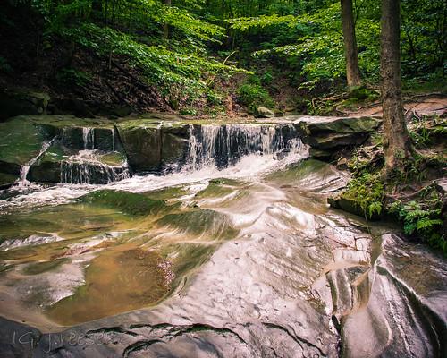 Upper Blue Hen Falls - Brecksville, OH