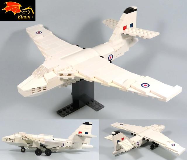 02 views Vickers Valiant Bomber