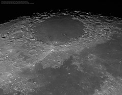 Mare Crisium and surroundings in very high definition