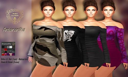Nala Design - Amarantha Shoulder Dress.