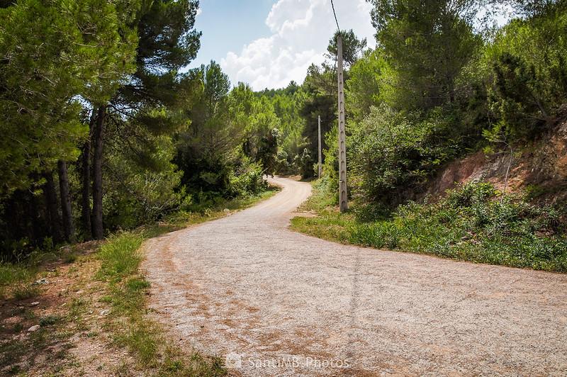 Carretera dl Santuari de Foix