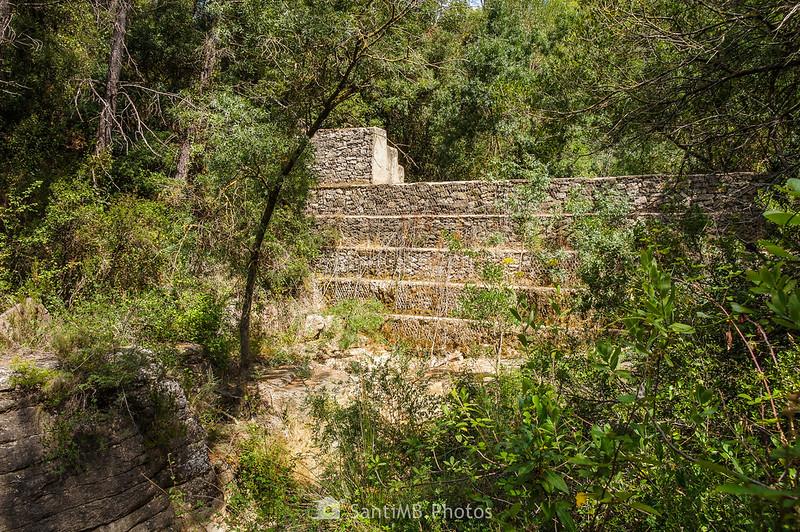 Presa cerca de les Gorges del Foix