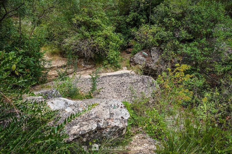 El río Foix a la altura del Salt del Tronc