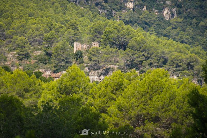 Ruinas cerca de les Valls de Foix