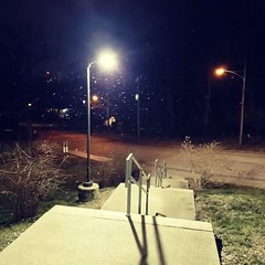 It's snowing in Northside! New Video from Instagram