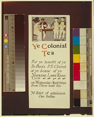 Ye colonial tea