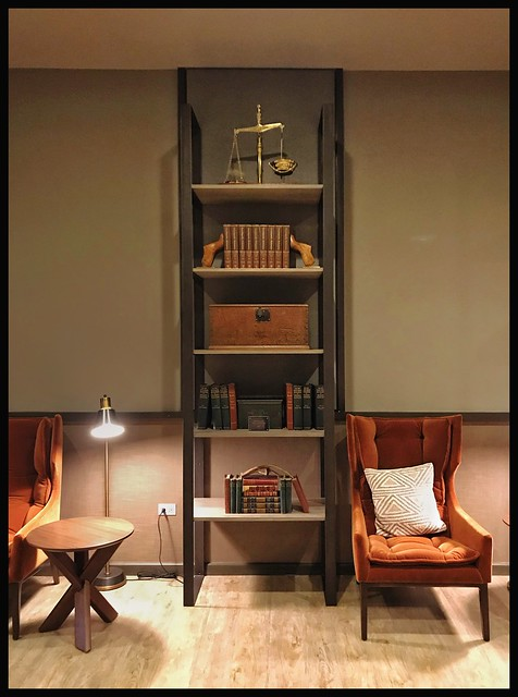 SHELVING Unit(s) I created for The Old Post Office-CHICAGO