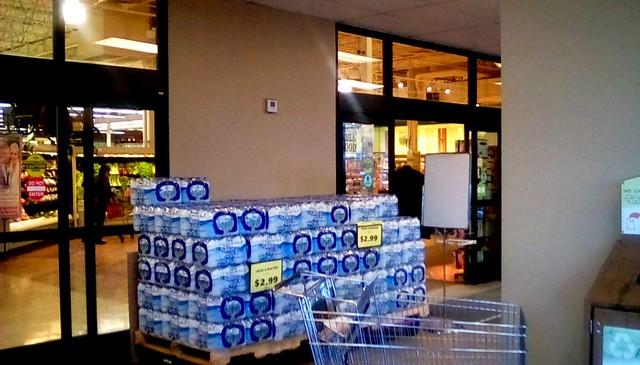 Supermarket entrance! - HWW Menominee Michigan