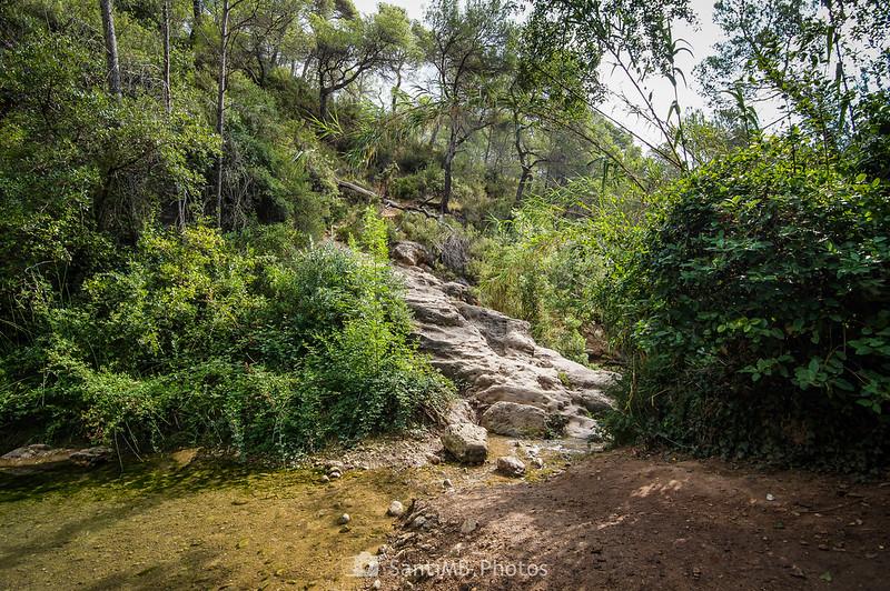 Acceso al Pèlag de les Valls desde el Camí de Cal Via
