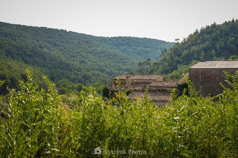 Llegando a les Valls de Foix