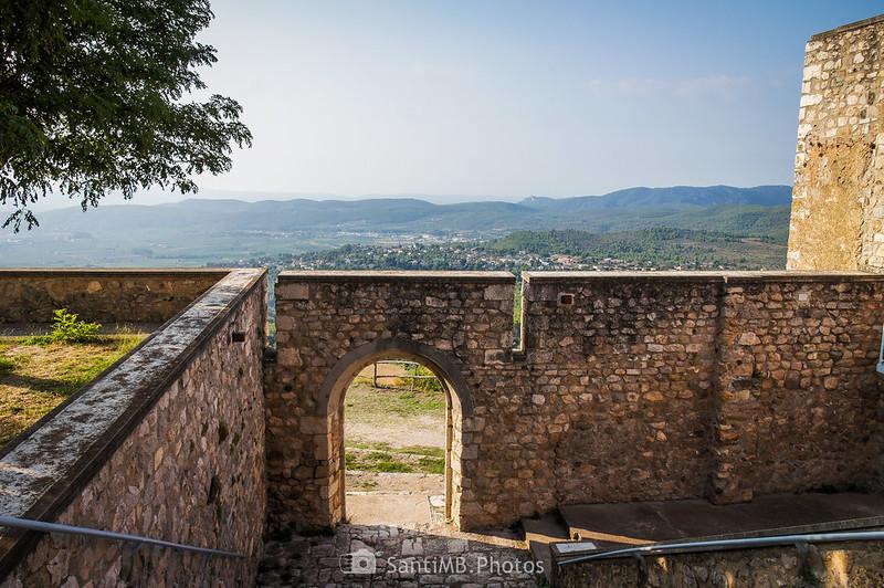 El Penedès desde la puerta de la Mare de Déu de Foix