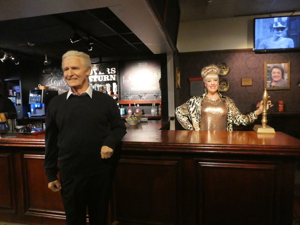 Rovers Return Pub, Madame Tussaud's Blackpool