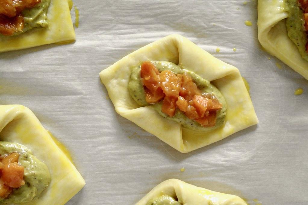 persimmon pistachio danishes