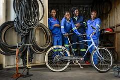 AKP Project Nakatindi Bike Shop, Zambia
