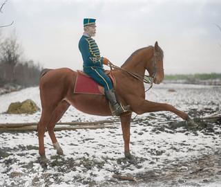 Captain R.M. Swartling of the Life Regiment Hussars (1910)