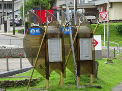 Two Public Phones