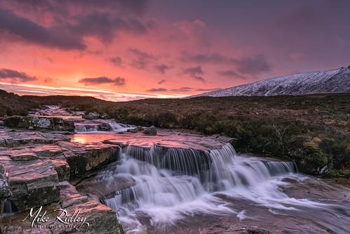 glencoe sunrise waterfall sonya7r2 kasefilters winter snow nature sky landscape
