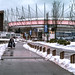 Vancouver Day - Remaining Snow on the seawall
