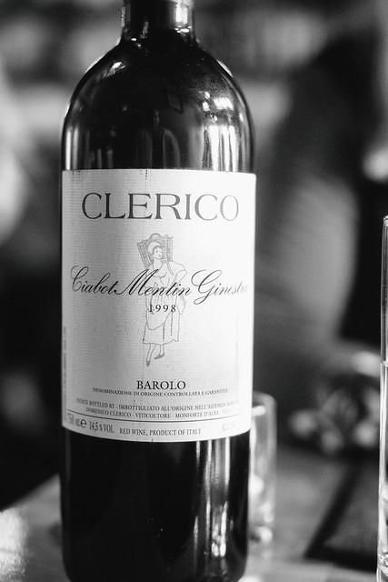 Clerico 1998  Ciabot Ginestra Mentin Barolo
