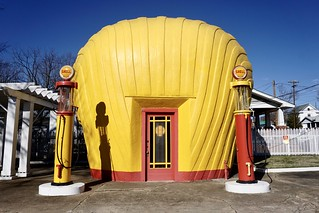 Original 1929 Shell Gas Station - Salem, NC