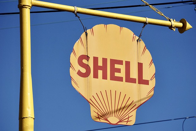 1929 Shell Station - Salem, NC