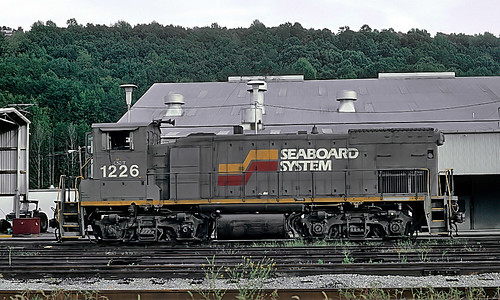 CSX MP15T 1226 (ex-SBD 1226) at Chattenooga, TN on September 26, 1993