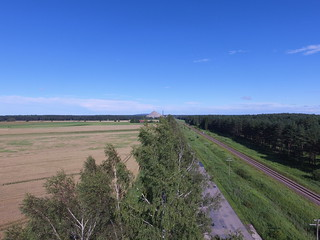 Küttejõu / Oil shale mining area in Estonia