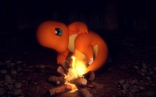 絕頂療癒~《精靈寶可夢》官方 Youtube 推出小火龍、哈力栗「ASMR」動畫影音(燃燒柴火-小火龍與柴火&咀嚼音-哈力栗的點心時光)