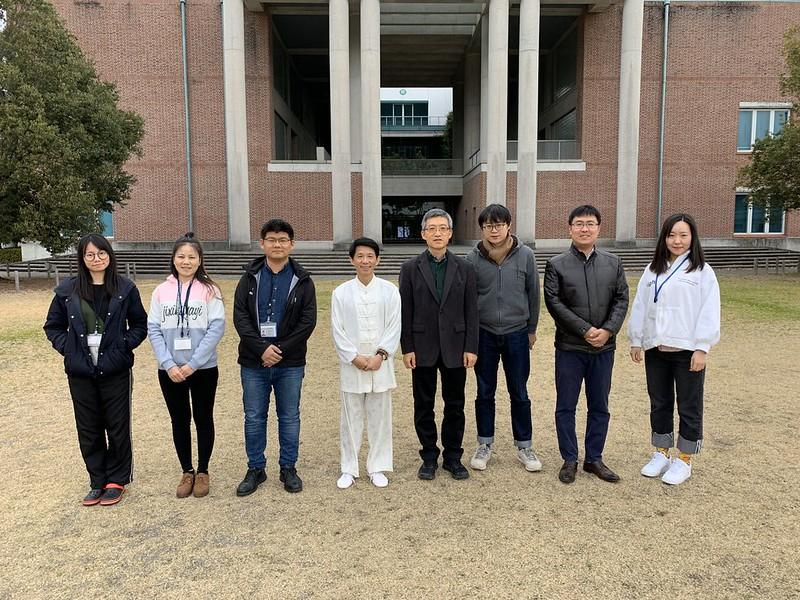 Prof. Liao Chiyang visited CHEC