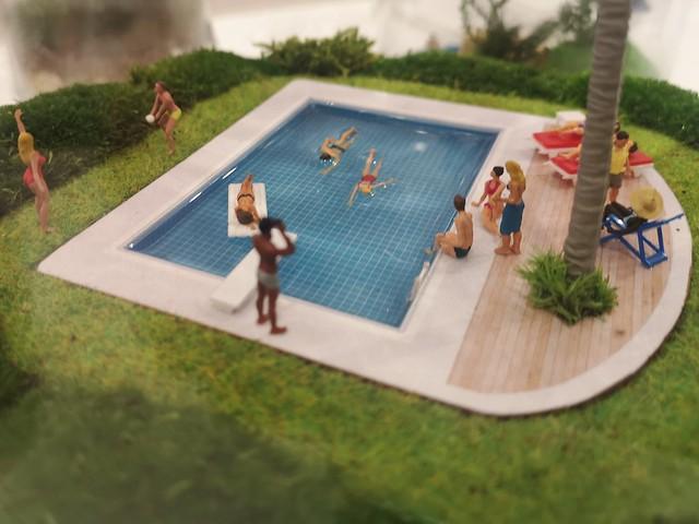 Swimmers by TerrariumArt, Milano.