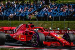 Vettel in free practice (Friday)