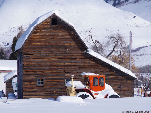 Bennington Barn and Tractor