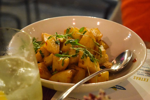 Fried Potatoes at Arabica, Borough Market
