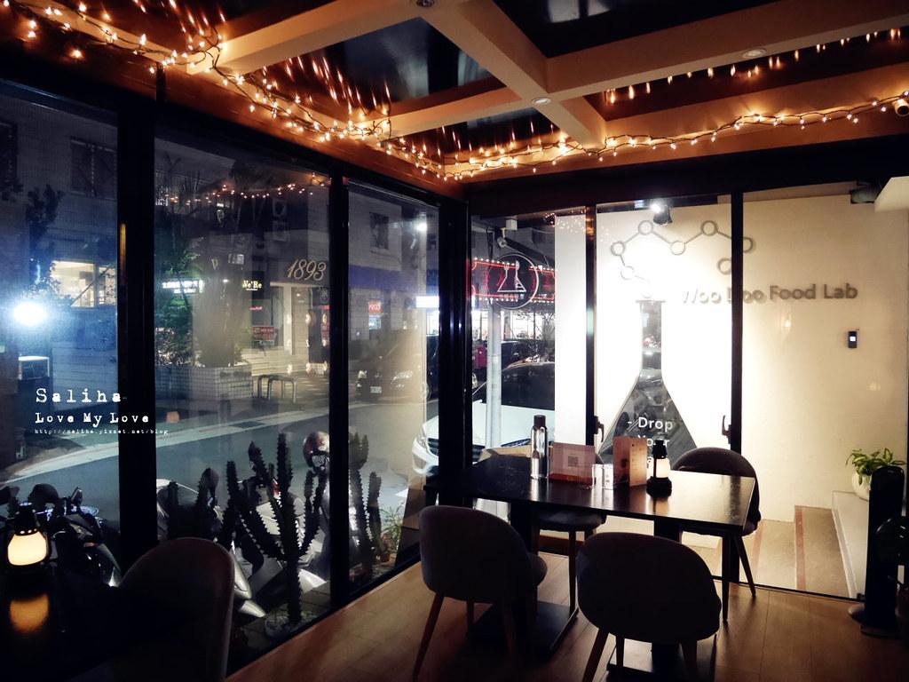 台北東區美食忠孝東路餐廳吾獨食驗室餐酒館氣氛浪漫餐廳約會調酒好吃披薩 (7)