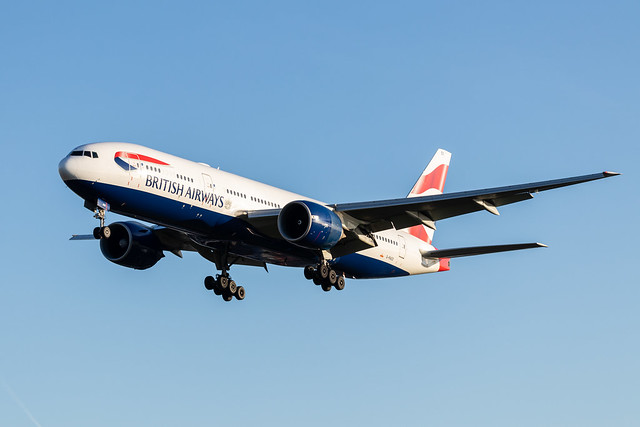 G-RAES British Airways Boeing 777-236(ER)