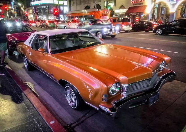 Chevrolet Monte Carlo on Hollywood Boulevard