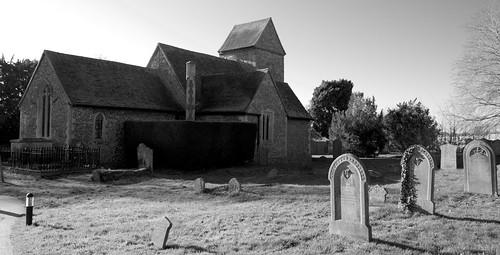 The church of the Holy Cross at Sarratt