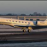 N555GA Gulfstream G650ER c/n 6334 Hill Air Corp (Farnborough-EGLF) 19/01/2020