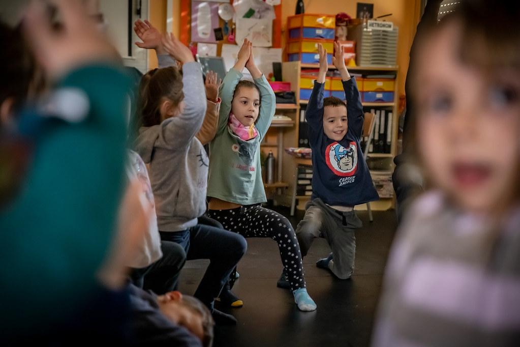 Projecte de dansa a l'escola H Josep Tarradellas