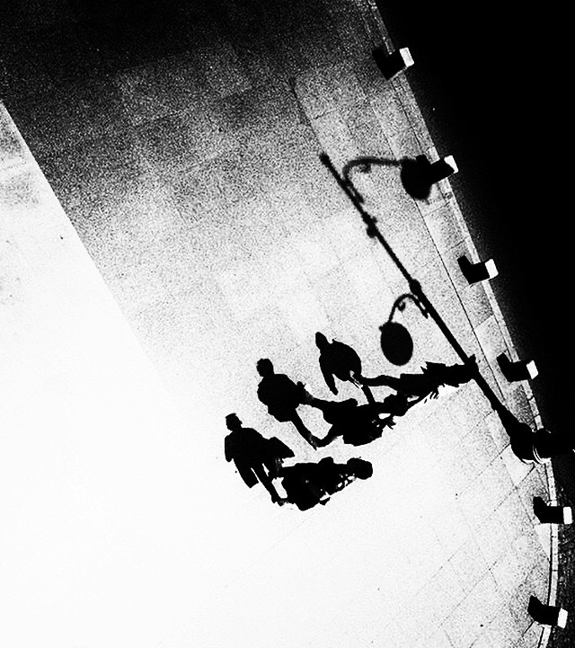 """"""" Walking Shadows """" by Mirela Momanu"""