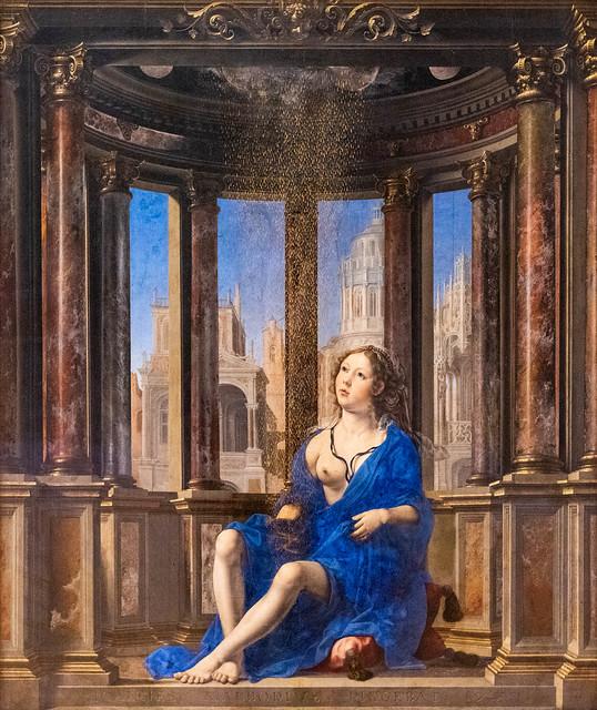 Danae, 1527