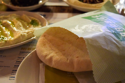 Warm Pitta Bread at Arabica, Borough Market