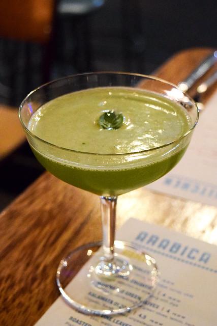 'Levantini' Cocktail at Arabica, Borough Market