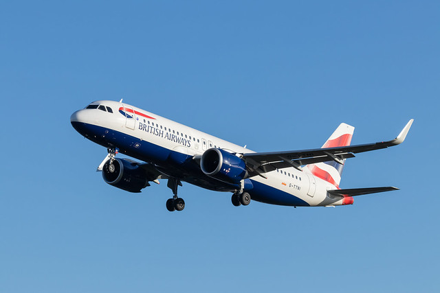 G-TTNI British Airways Airbus A320-251N