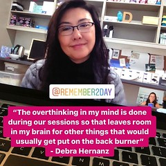 I am so honored to be able to support amazing #educators like Debra (@remember2day) through our @edurolearning Private Mentoring packages. . . In Friday's conversation Debra shared some positive feedback with me about our work together. Among all the wond