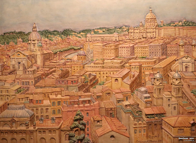 Rome, 1989, Raymond Mason