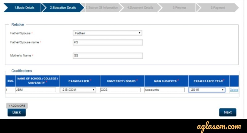 ICSI Registration 2020 for Foundation, Executive, Professional