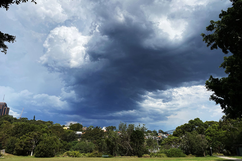 Storm over Waverton Park