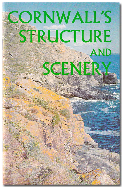 Book Cover: Cornwall's Structure and Scenery